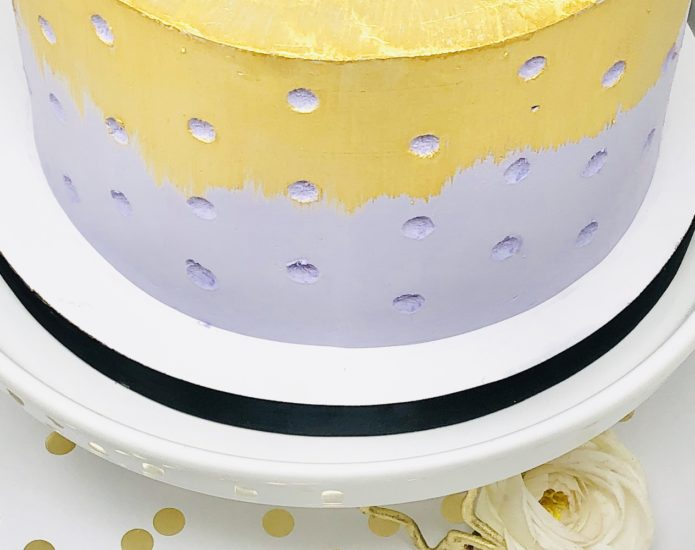 Luxe Dottie Cakes
