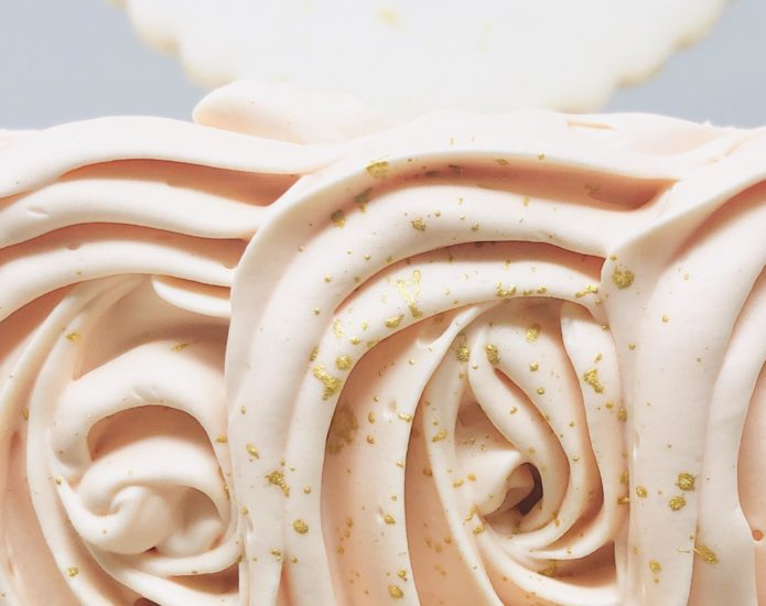 Luxe Rosette Cakes
