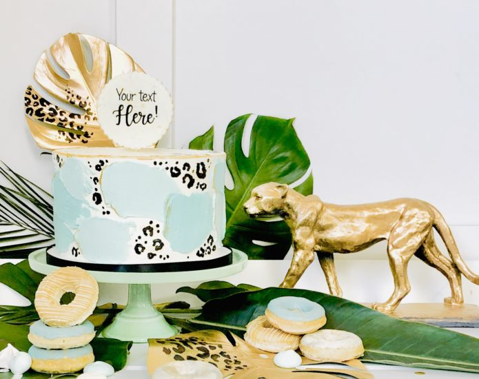 Luxe Party Animal Cakes