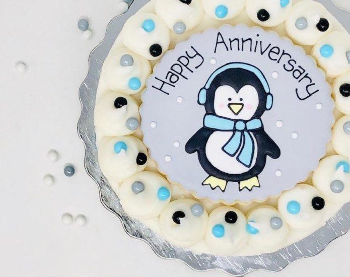 Vegan Penguin Cakes