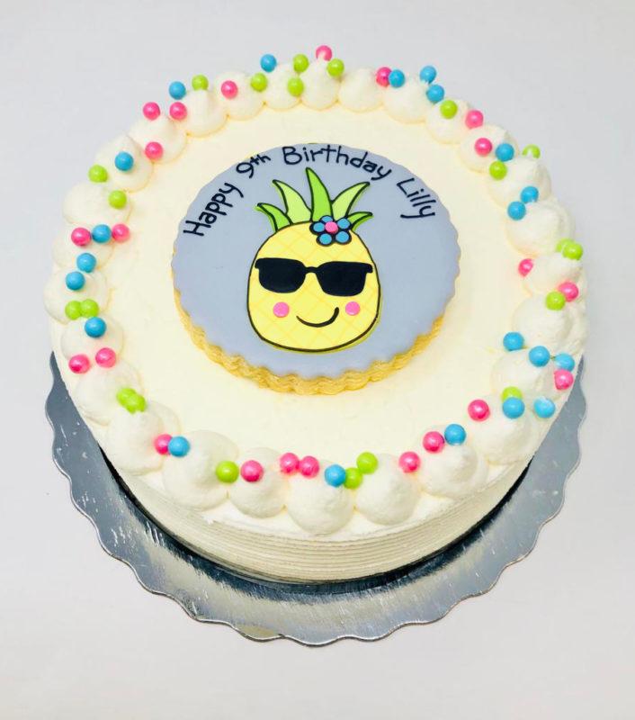 Vegan 'Pineapple' Cakes