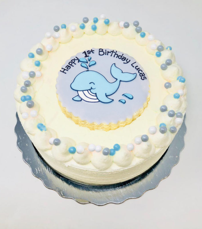 Whale Cakes