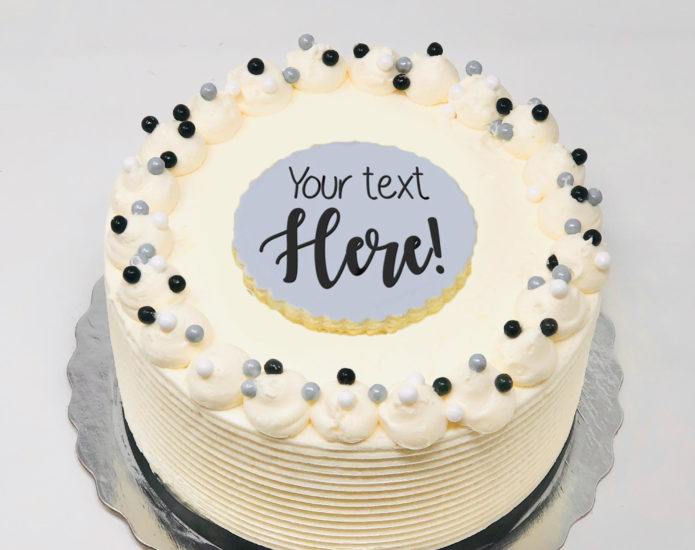 Message Cakes