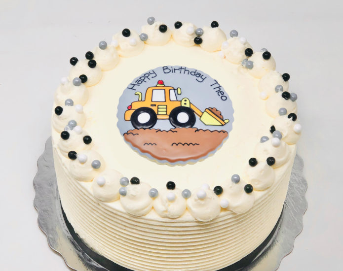 Construction Cakes