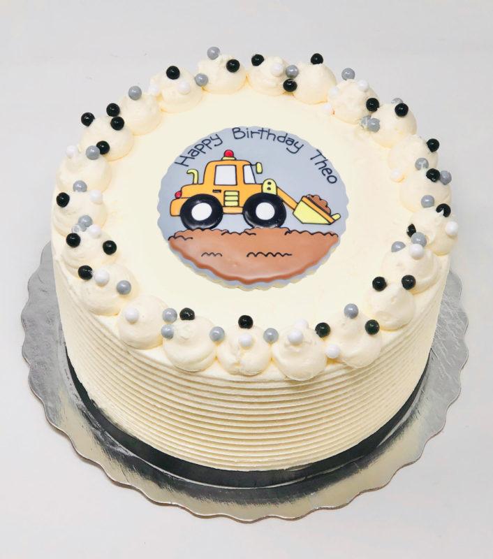 Vegan Construction Cakes