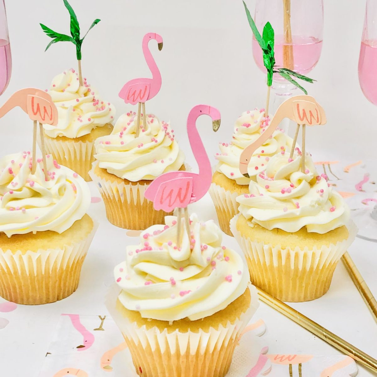 Flamingo Party for 6