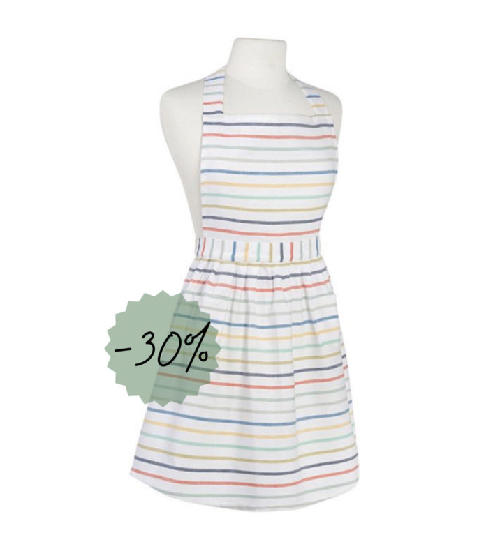 Sweet Stripe Apron - Adult