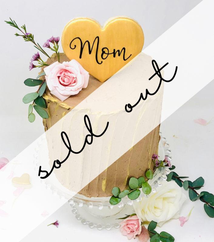 Chocolate Salted Caramel Mom Cake