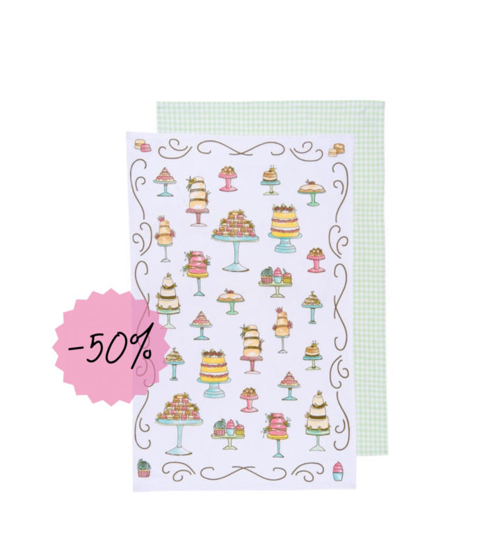 Dessert Dish Towel Set