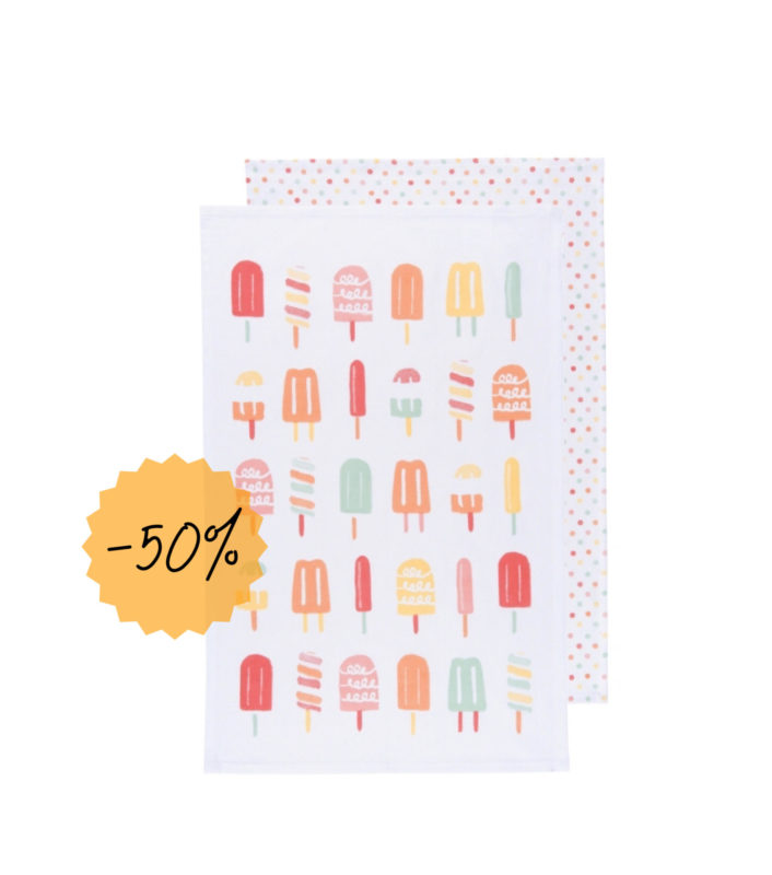 Popsicle Dish Towel Set