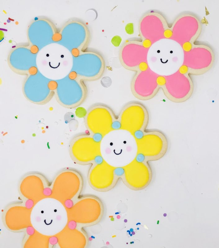 Smile Flower Party Favours - $30