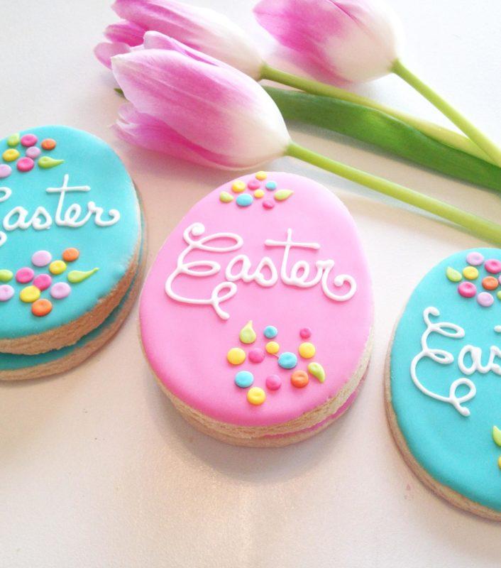 VEGAN Easter Egg Cookies (6)