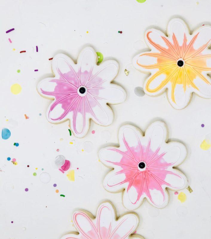 Watercolour Flower Party Favours - $30