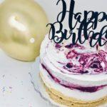 Vegan Vanilla Berry Ice Cream Cake