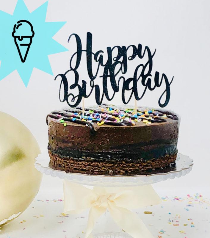 Vegan Chocolate Ice Cream Cakes