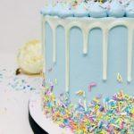 Luxe Confetti Smash Cake