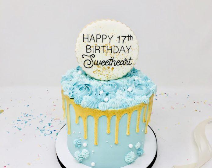 Luxe Swirl Cake