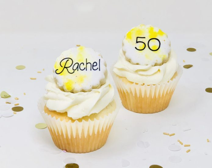 Yellow & Gold Cupcakes