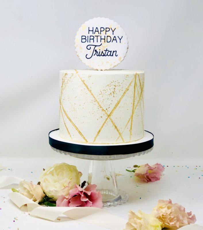 Luxe Modern Cake