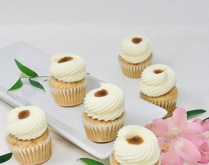 Carrot Caramel Mini Cupcakes