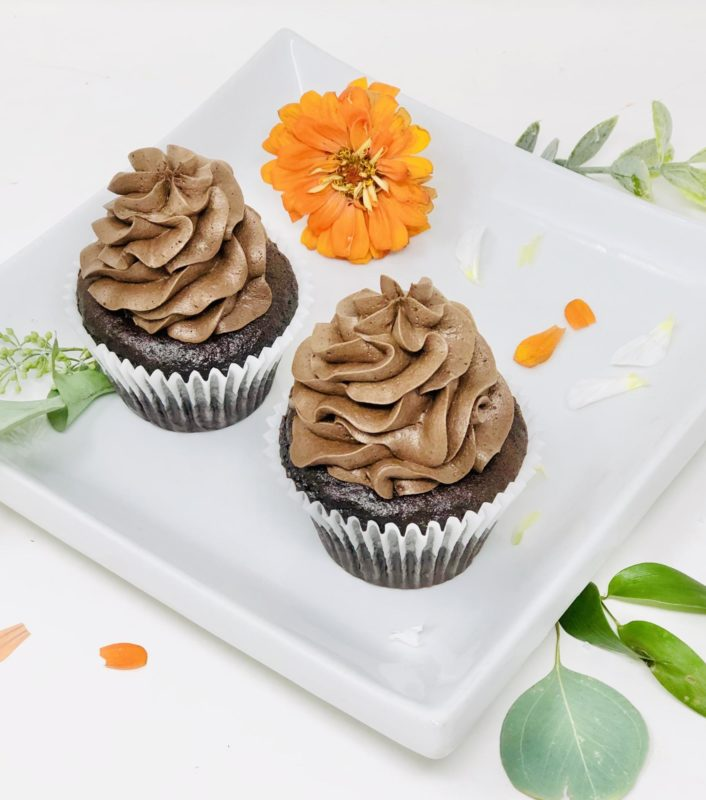 Black Chocolate Cupcakes