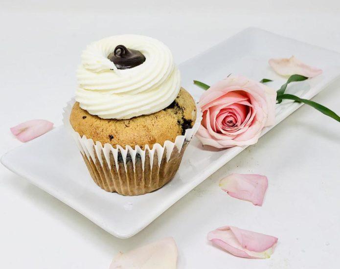 Chunky Monkey Ganache Cupcakes
