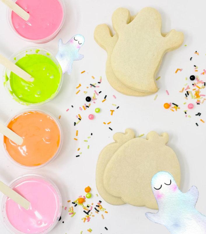 Vegan DIY Halloween Cookie Kit