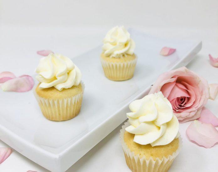 Lemon Drop Mini Cupcakes