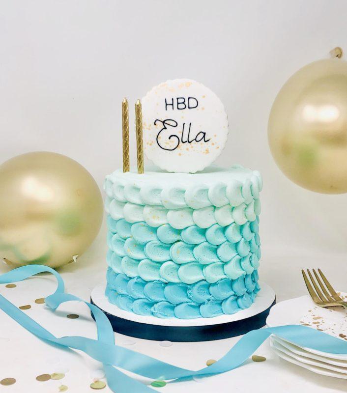 Luxe Petal Cake