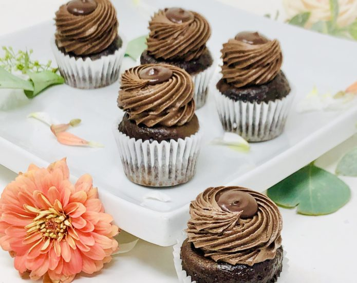 Chocolate Lover Mini Cupcakes