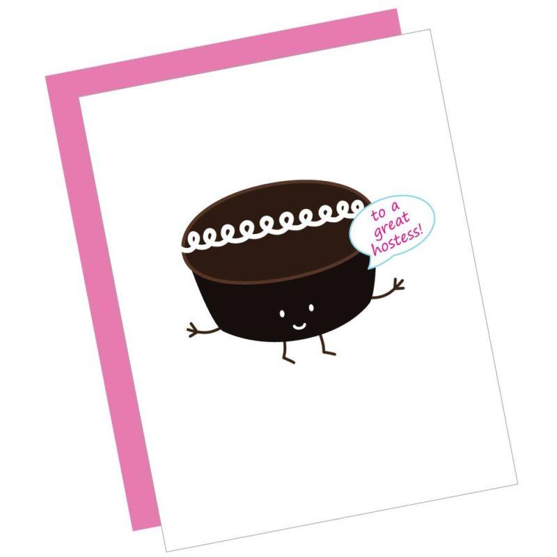Great Hostess Card
