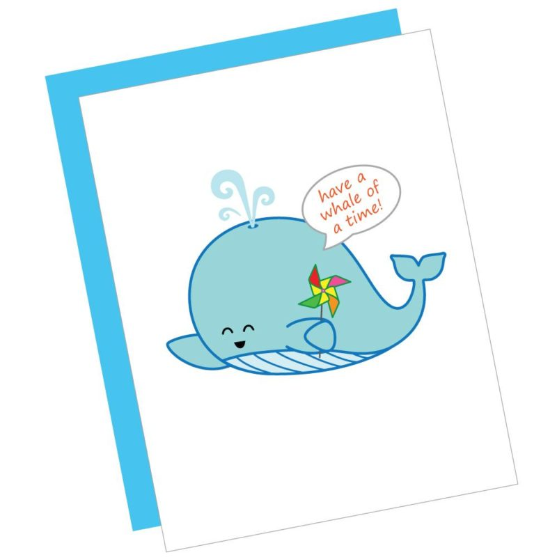 Have a Whale of a Time Card