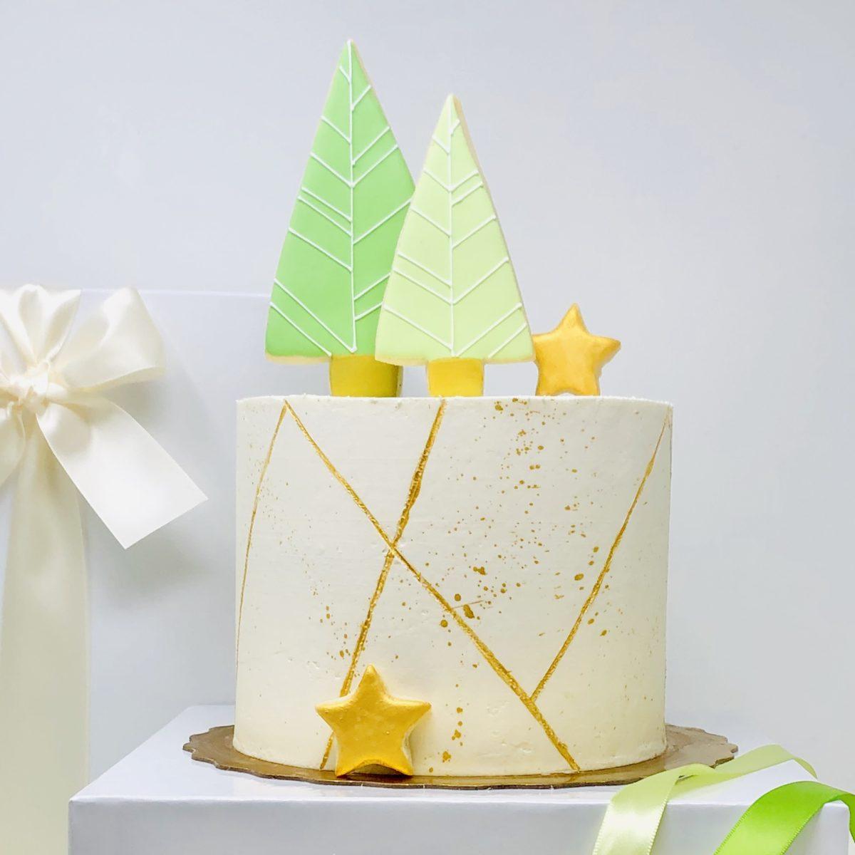 Luxe Christmas Cake