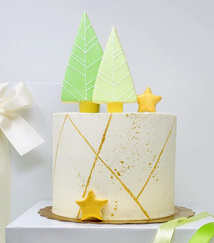 Luxe Christmas Cake