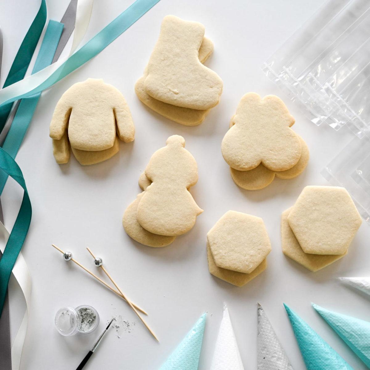 Luxe DIY Winter Cookie Kit