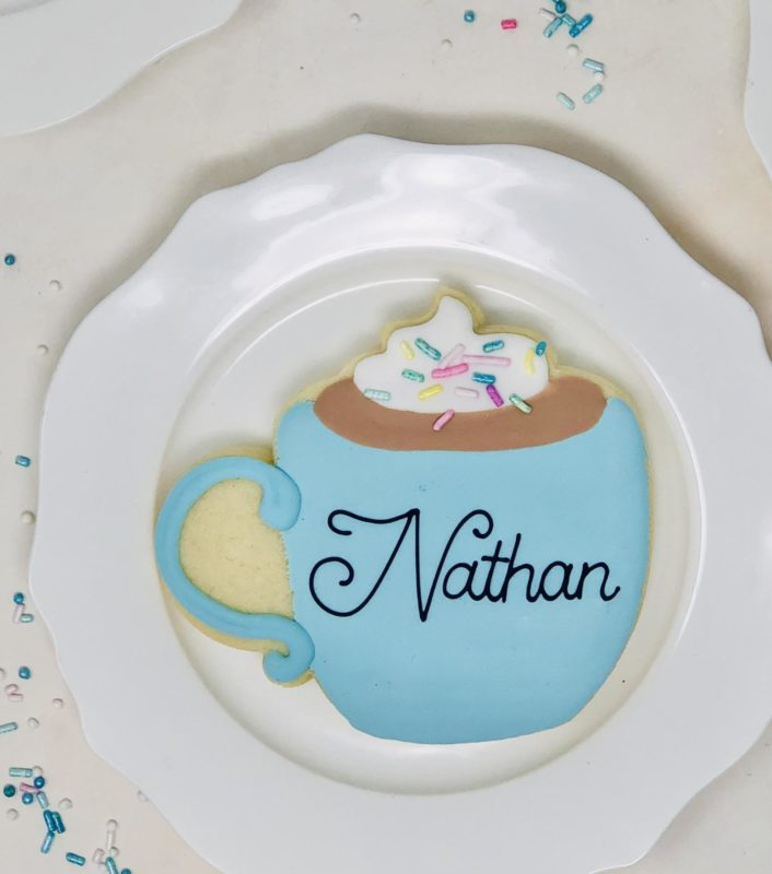 Personalized Mug Cookies