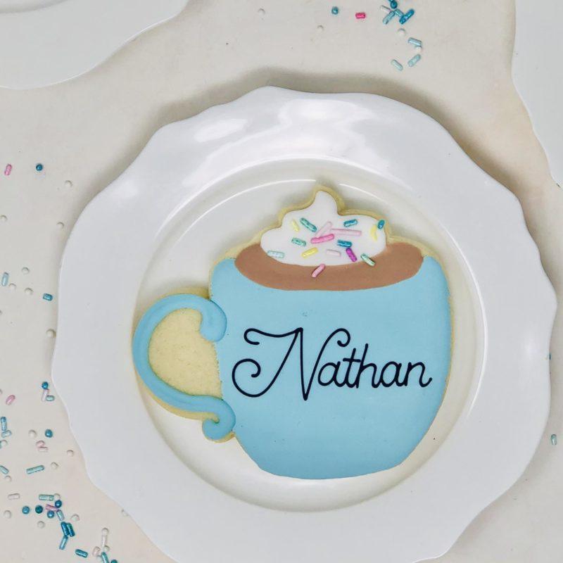 Personalized Mug Cookies
