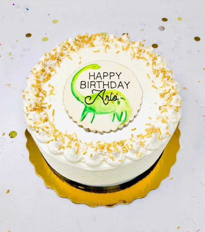 Vegan Dino-Mite Cakes