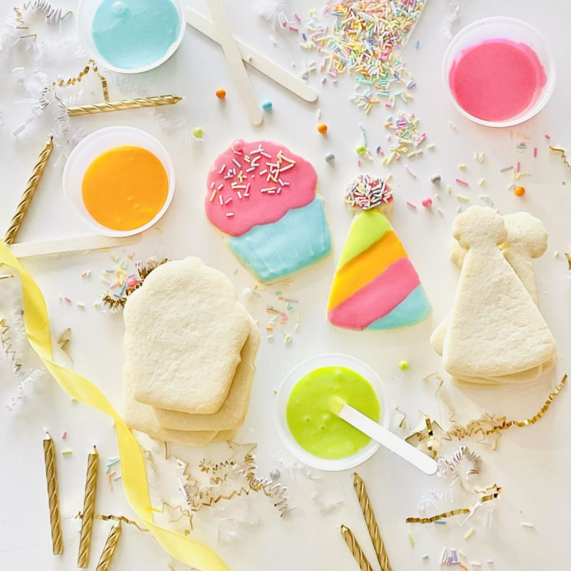 DIY Birthday Party Cookie Kit