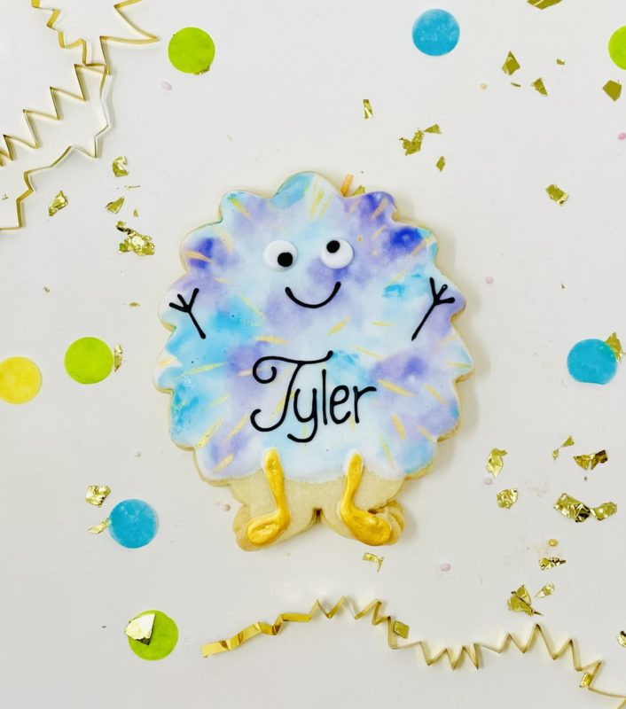 Vegan Personalized Party Animal Cookies