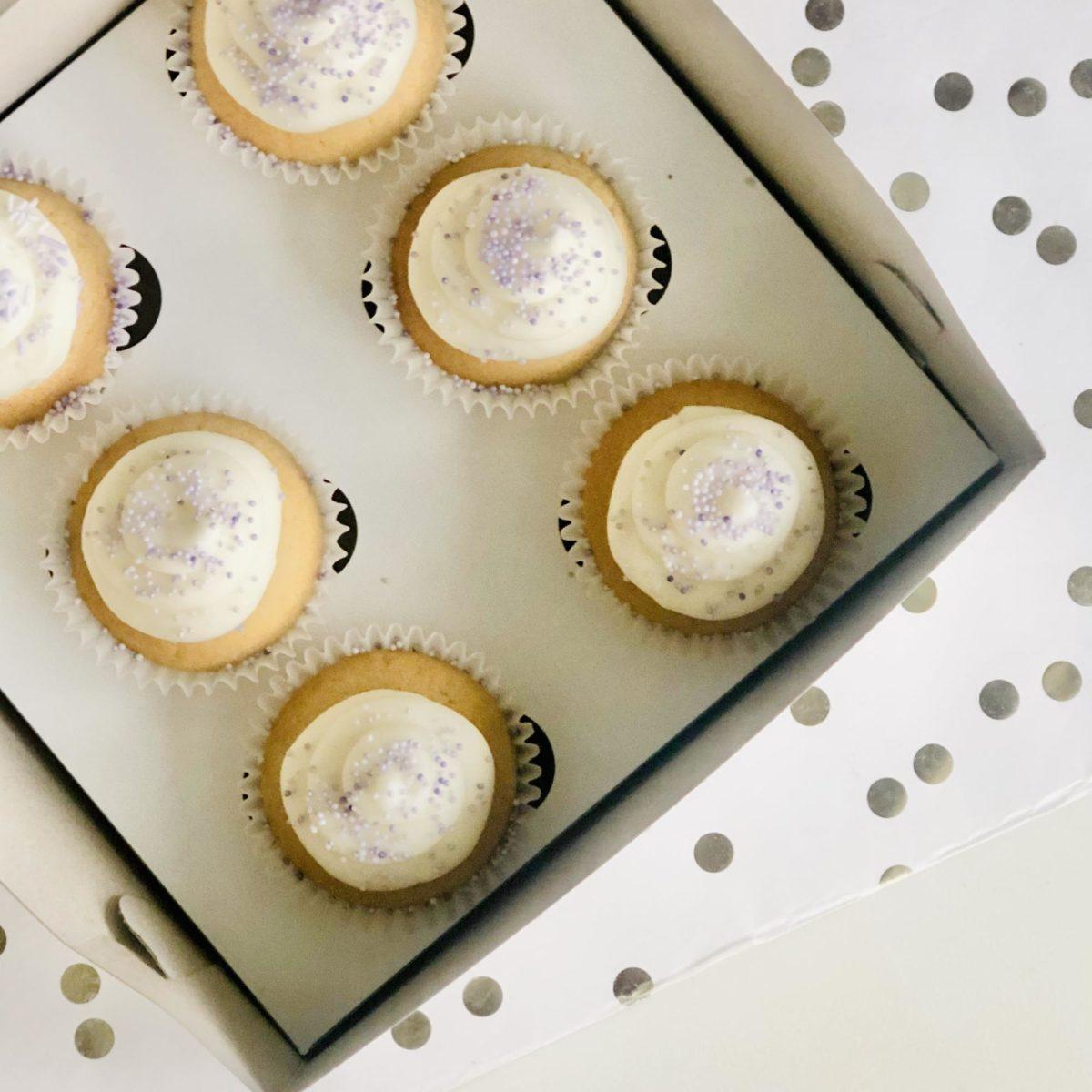 Vegan Sprinkle Cupcakes