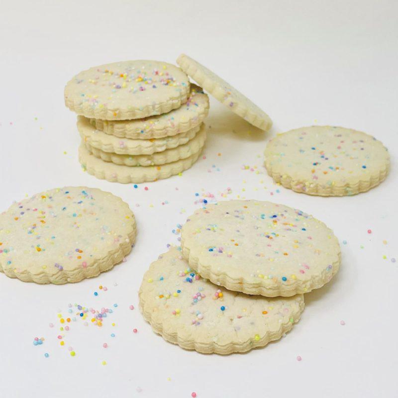 Vegan Sprinkle Cookies