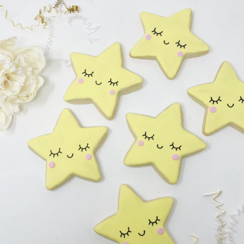 Vegan Twinkle Star Cookies