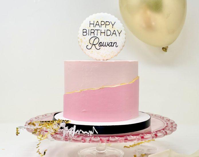 Luxe Monochrome Cakes