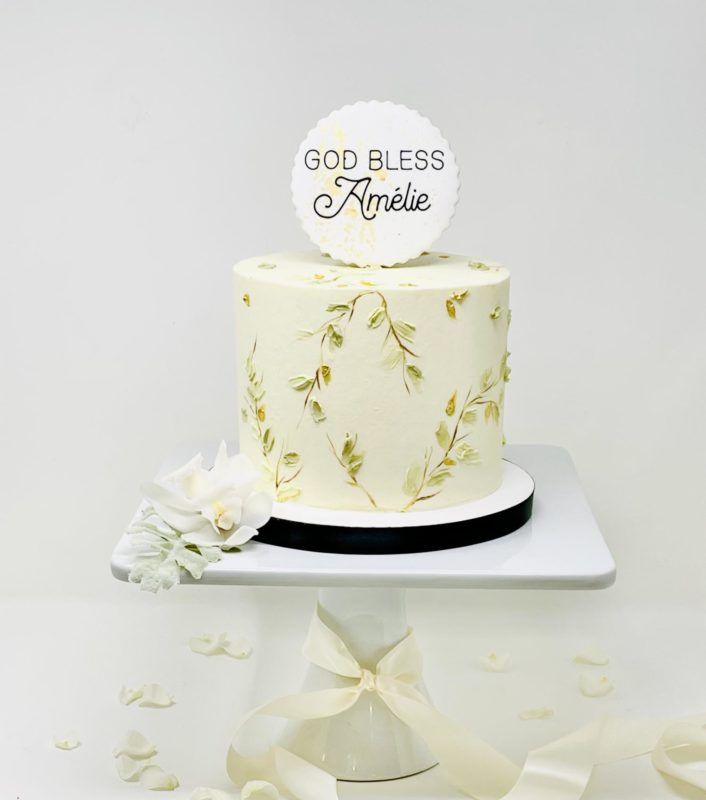Luxe Botanical Cakes