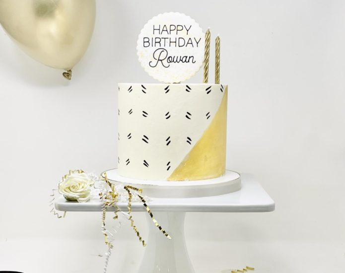 Luxe Jazzy Cakes