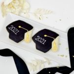 Personalized Grad Hat Cookies