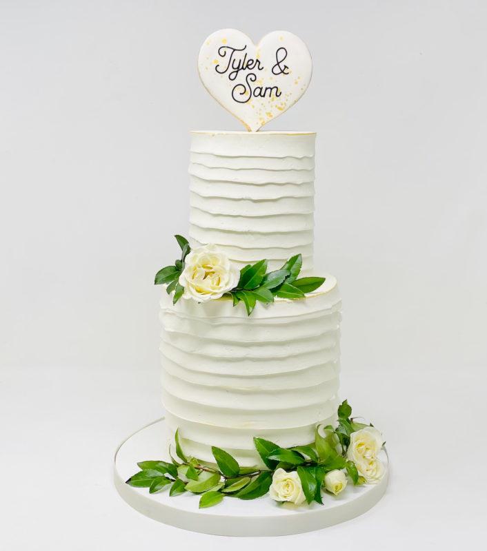 Twist Wedding Cake