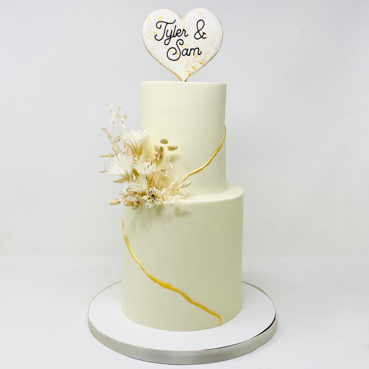 Amour Wedding Cake