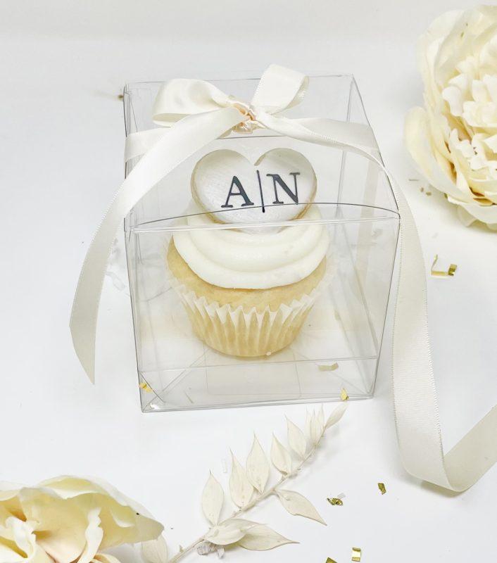 Vegan Cupcake Wedding Favours